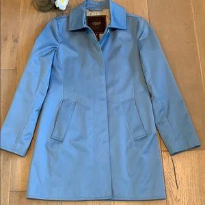 New Women's Coach Spring Rain Trench Coat Size XS